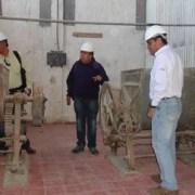 Hasta Humberstone llegaron Consejeros Regionales para verificar estado de avance de obra de Pulpería