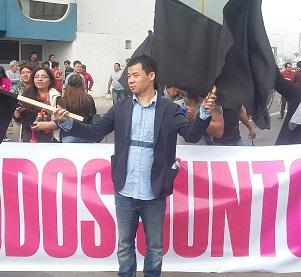 Por reactivación de Zofri, multitudinaria protesta, sin desórdenes ni la intervención de fuerzas especiales