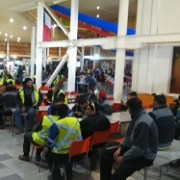 Se desata problema máximo en Minera Collahuasi, Trabajadores definitivamente iniciaron el paro esta mañana