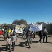 Habitantes de Huara promueven prevención de consumo de alcohol y drogas