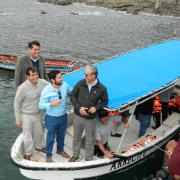 Gobernador del Tamarugal destaca proyectos de arrecifes artificiales en Pisagua