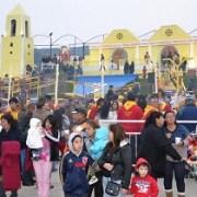 Fieles de Alto Hospicio rindieron tributo a San Lorenzo ubicado en réplica de la iglesia de Tarapacá