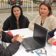 Despliegue social en Plaza Ciudadana realizada en Junta Vecinal Ferronor