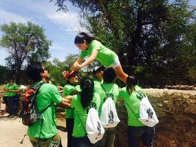 Estudiantes conocieron Geoglifos de Pintados y la Reserva Nacional   Pampa del Tamarugal