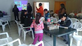 """Niños de Villa Frei promueven prevención con """"Taller Ecológico"""""""