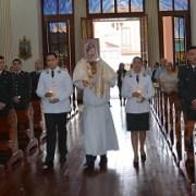 Con acto litúrgico Gendarmería conmemoró su 85 aniversario
