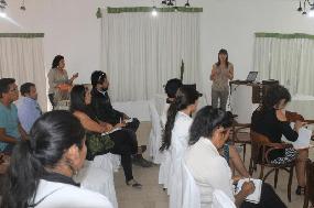 Comunidad de Pozo Almonte recibió charla sobre Ley 20.000