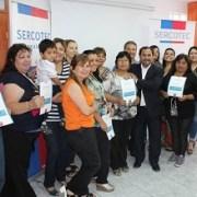 Emprendedores acceden a taller sobre el uso de nuevas tecnologías, TICs y contabilidad básica