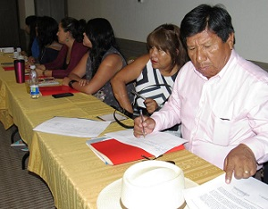 """Programa  """"Altiplano sustentable"""" de Corfo integró a representantes del sector público, privado e indígena"""