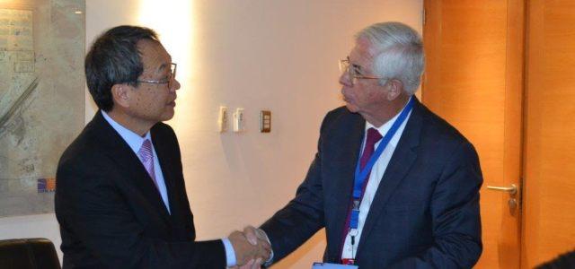 A una semana de asumir, nuevo embajador de Taiwán visitó ZOFRI