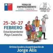 FOSIS Tarapacá realizará en Cavancha, la Segunda Feria de Emprendimientos, en rubro gastronómico,  turismo y artesanía