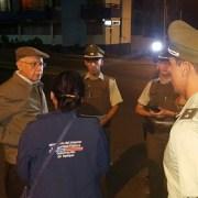 Intendente (s) Francisco Pinto encabeza operativo nocturno por El Morro y Playa Brava
