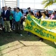 En plaza principal de Hospicio, pobladores iniciaron huelga de hambre por solución habitacional