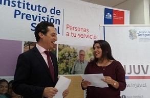 Convenio que potencia relaciones intergeneracionales firmaron INJUV y el IPD