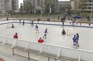 Selección Nacional Femenina de Jockey Patín, entrena en Iquique