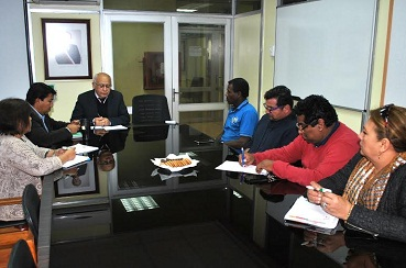 Gobernador Pinto informó que se restablece mesa de trabajo con migrantes