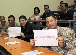 Centro de la Mujer de Iquique implementa campaña #ChileSinFemicidios