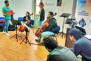 Taller de música barroca de la EMAC, reunió a más de 20 músicos locales