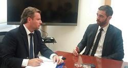 Diputado Enzo Trisotti se reunió con el subsecretario para la Prevención del Delito preocupado por las altas tasas de victimización por hogar de Tarapacá
