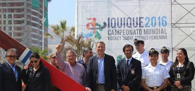 Todo listo para Mundial de Hockey: Gobernación y Municipio inspeccionaron recinto