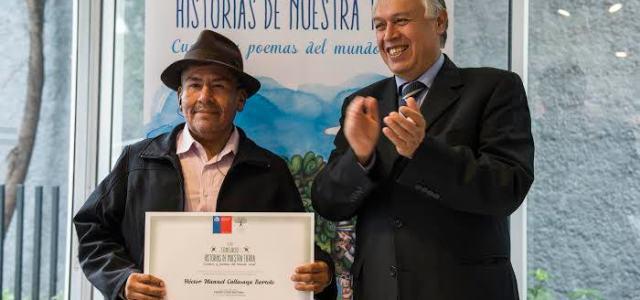 """Orgullo regional: Campesino aymara obtuvo primer lugar nacional en poesía en concurso """"Historias de Nuestra Tierra"""""""