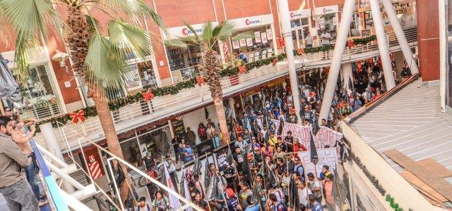 Ahora sí que se agudiza conflicto: Por 11 días cargadores mantendrán tomado el Mall de la Zona Franca