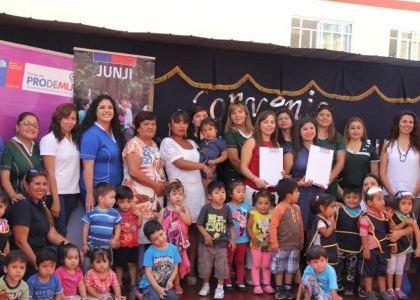 Alianza estretégica entre JUNJI y Prodemu para el desarrollo personal de funcionarios y apoderados