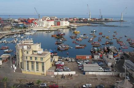 7 puertos chilenos, incluido el de Iquique, están entre los TOP 50 de la CEPAL