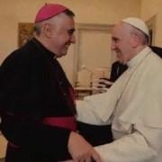 """Impresionado por """"la capacidad de escucha y las orientaciones que da"""" se manifestó obispo de Iquique, tras reunirse con el Papa Francisco"""