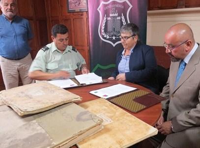 Archivos de Gendarmería transferidos al Conservador: Un aporte para la causa de derechos humanos