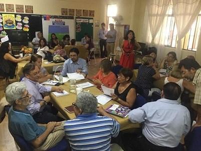 Gran despliegue para  apoyar y orientar a escuelas de la macrozona norte