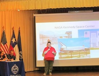 Astronauta Jamie Guined acercó espacio y desierto para prospectar el Proyecto Habitat en Tarapacá