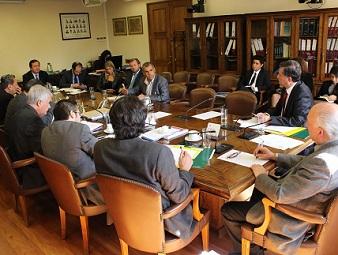 Propuestas para crear Ley General de Puertos presentó Mauricio Soria Comisión de RREE de Cámara de Diputados