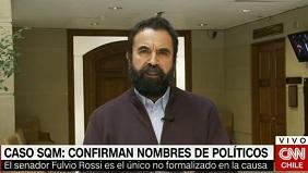 """Hugo Gutiérrez: """"Fulvio Rossi es parte de los políticos coimeados por SQM"""""""