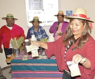 Desarrollan programa para Revalorizar el Patrimonio Agroalimentario y las Tradiciones Andinas