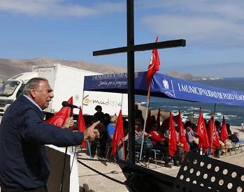 En Pisagua rindieron homenaje a detenidos que aparecieron en fosa clandestina, hace 27 años