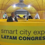 Alcalde Soria participa en congreso de ciudades inteligentes en México