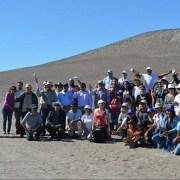 """Tareas de limpieza en cerro Unitas, dentro del programa """"Rescatemos al Gigante de Atacama"""""""