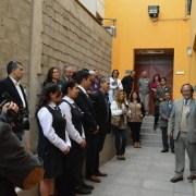 """Taller Automotriz es bautizado con el nombre de """"Felipe Rocha Pantoja"""", en reconocimiento a su labor docente"""
