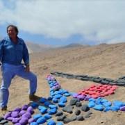 Revitalizan arte del geoglifo, ancestral técnica de comunicación presentes en la zona
