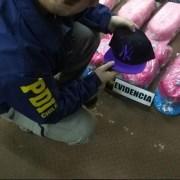 PDI incauta cerca de 3 mil 600 gorros falsificados con logos y diseños alusivos a conocidas marcas