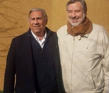 Este mediodía llega el candidato presidencial de la Nueva Mayoría, Alejandro Guillier