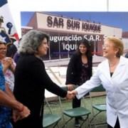 """Jefa de Estado en Iquique: """"Estamos haciendo un esfuerzo sin precedentes en materia de hospitales y centros de s"""