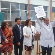 """Hospital """"Ernesto Torres Galdames"""" recibe certificado de Acreditación en Calidad y Seguridad del Paciente"""