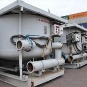 Desde Bolivia llegan al puerto partes y piezas de taladro perforador