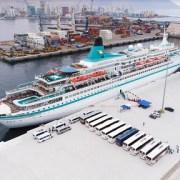 Salitreras Humberstone y Santa Laura, nuevamente destino predilecto de turistas que llegan a Iquique en cruceros internacionales