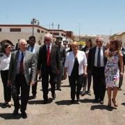 En Salitrera Humberstone Presidenta Bachelet reiteró compromiso con el Patrimonio y la Memoria Histórica
