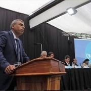 """Interpelando al gobierno y mostrándose favorable al diálogo alcalde Soria dijo: """"Lo que pasó es pasado, desde hoy vamos a construir un nuevo futuro"""""""