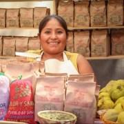 Productoras de quinoa y orégano del Tamarugal, se lucen en festival de cocina realizado en Santiago