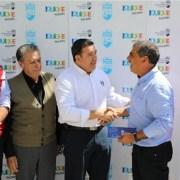 Primera cuota de subvención anual a Bomberos entregó el alcalde Soria junto a concejales